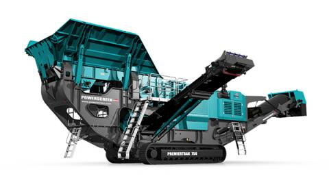 Powerscreen Premiertrack 750