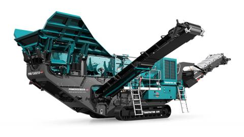 Powerscreen Trakpactor 320 & 320SR
